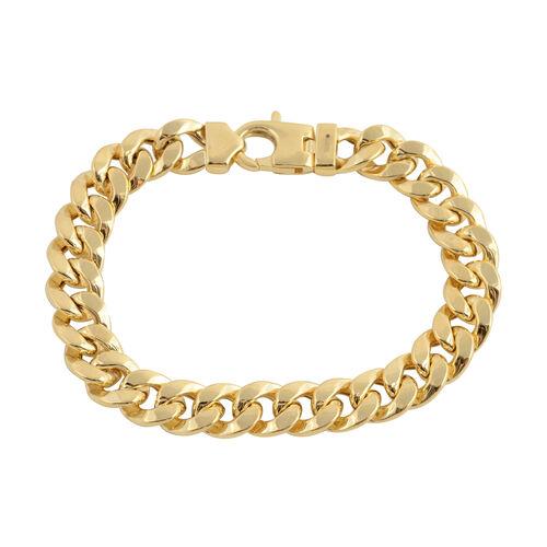 Vicenza Collection 7 Inch Bismark Bracelet in 9K Gold 14.54 Grams