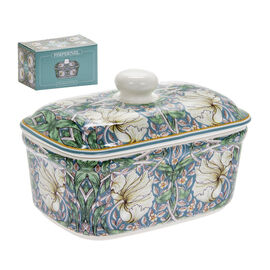 Lesser and Pavey - William Morris Pimpernel Butter Dish