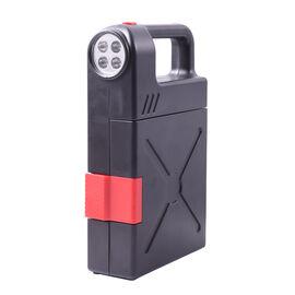 Portable Flashlight Jerry Can Design Tool Box (Inclds. 1pc Handle, 1pc Prolong Bar, 4pcs Precision S