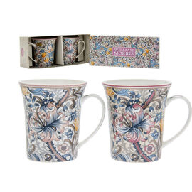 Lesser and Pavey - William Morris Golden Lily Mugs - Set of 2