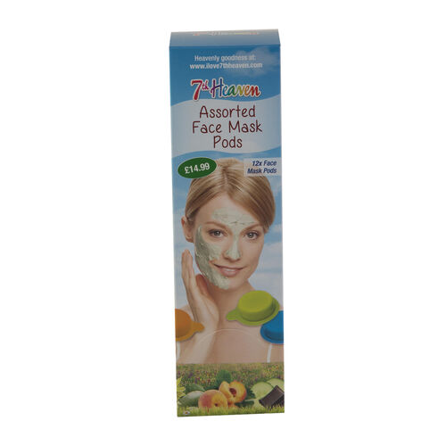 7th Heaven Assorted Face Mask Pods (incl 12 Pods)