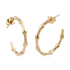 14K Gold Overlay Sterling Silver Earrings