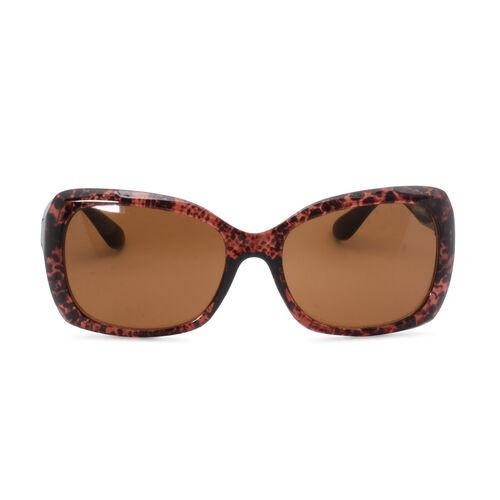 Designer Inspired Sunglasses for Women - Brown