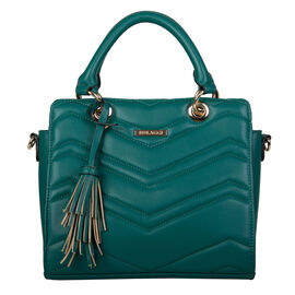 Bulaggi Collection- Calanthe Handbag (Size 27x23x10 Cm) - Green