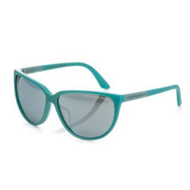 Porsche Design Ladies Green/Blue Sunglasses