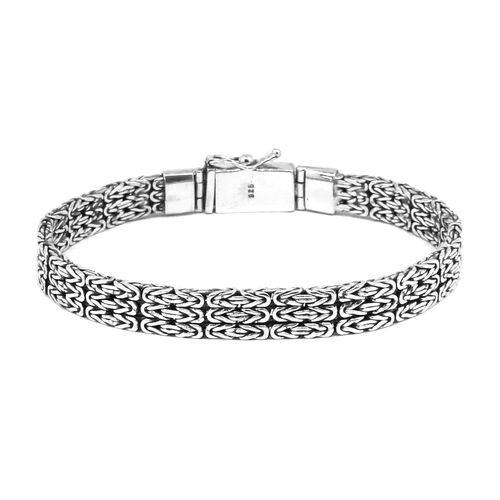 Royal Bali Collection Sterling Silver Borobudur Bracelet (Size 8), Silver wt 34.31 Gms.