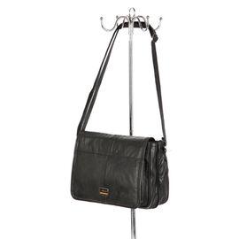 100% Genuine Leather Hand/ Shoulder Bag (Size 20x27x11cm) - Black Colour