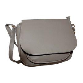 Designer Inspired- Grey Colour Bag with Adjustable Strap