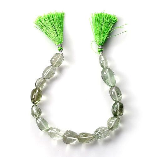 Green Amethyst (Tumble Free Plain 3A) 175.000 Cts