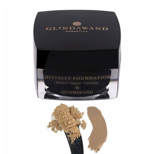 GlindaWand DIVINITY Foundation  Almond