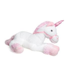 Keel Toys - White Colour Unicorn (Size 70 Cm)