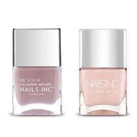 Nails Inc: Ill be Dancing - 14ml & Whitehall - 14X2 ML