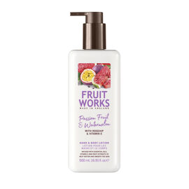 Passion Fruit & Watermelon Hand & Body Lotion with Rosehip and Vitamin E - 500ML