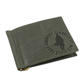 MCS Country Classics 100% Genuine Leather Wallet (8x11cm) - Dark Green