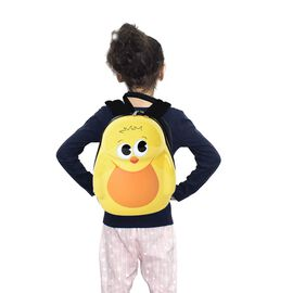 Cute Bee Kids Backpack (Size 31x23x9cm) - Black and Yellow