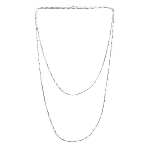 Sterling Silver Diamond Cut Ball Necklace (Size 60), Silver wt 9.00 Gms.
