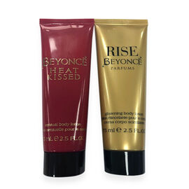 Beyonce: Rise Body Lotion - 75ml & Heat Kissed Body Lotion - 75ml