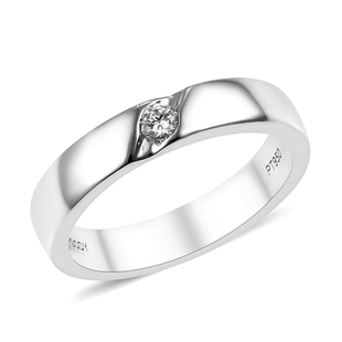 RHAPSODY Diamond Band Ring in 950 Platinum 6.71 Grams IGI Certified VS EF