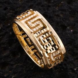 Royal Bali Collection 9K Yellow Gold Greek Key Pendant