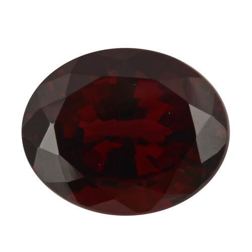 AAA Red spinal Oval 11x9 Faceted 4.70 Cts