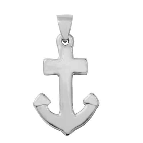 Designer Inspired - Sterling Silver Anchor Pendant