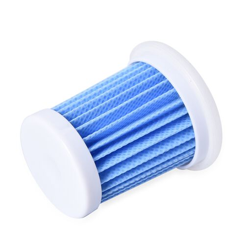 Set of 6 - HEPA 11 Filter (Size 5 Cm) - White and Blue