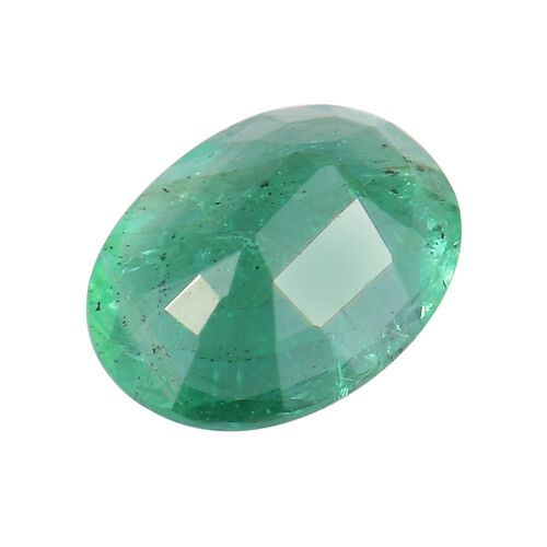 AA Emerald Oval Free Faceted 0.80 Cts