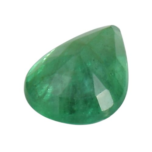 Emerald Pear 6.7x4.6 Faceted 1A 0.55 Cts