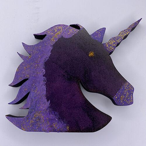 Unicorn Craft Box - Ready to Paint Unicorn (Colour Included)