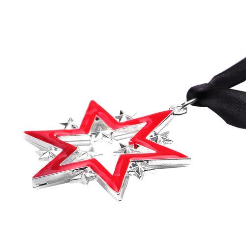 RACHEL GALLEY - Star Enamelled Charm in Silver Tone