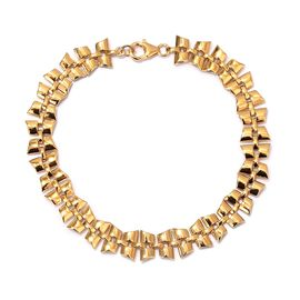 RACHEL GALLEY Chain Bracelet in 14K Gold Plated Sterling Silver 8.25 Inch