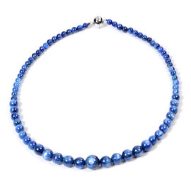 Extremely Rare AAAA Kyanite  Necklace (Size - 20) with Magnetic Lock in Sterling Silver 326.00 Ct.