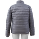 DOD - Japanese Heating Wire Puffer Down Feather Jacket with 3 Heat Setting (Size L) - Silver Grey