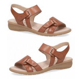 CAPRICE Sandal Flat NUT NAPPA