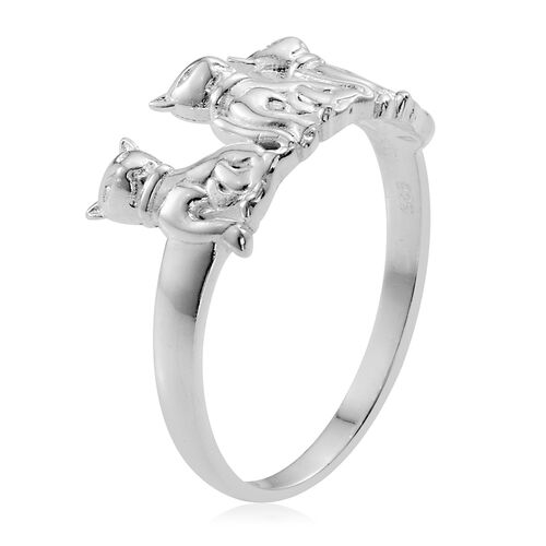 Sterling Silver Ring, Silver wt 3.74 Gms.