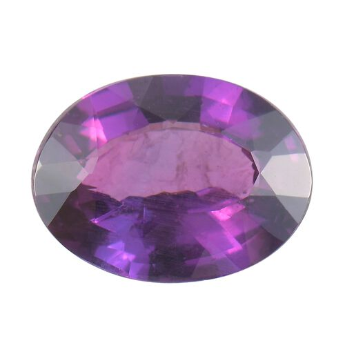 AAA Purple Sapphire Oval Free Faceted 1.70 Cts