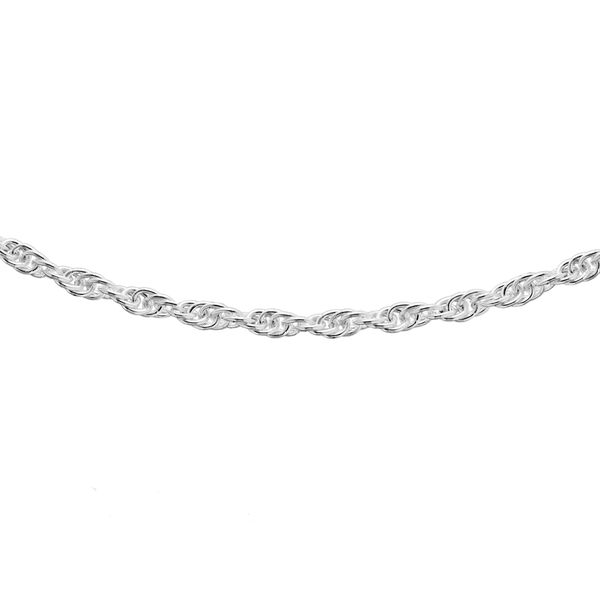Sterling Silver Prince of Wales Chain (Size 22), Silver wt 3.40 Gms