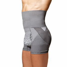 SANKOM Patent Body Back-Brace Men Aloe Vera Fibers Shapers Shorts Grey Colour