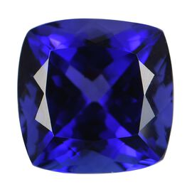 AAAA Tanzanite Cushion Free Faceted (11.85x11.84x8.30) 9.00 Cts