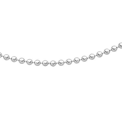 RHAPSODY  950 Platinum Ball Chain (Size 20)