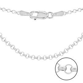 Sterling Silver Belcher Chain (Size 32), Silver wt 4.04 Gms