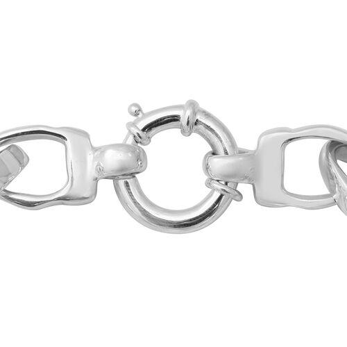 Sterling Silver Link Bracelet (Size 8), Silver wt 22.51 Gms