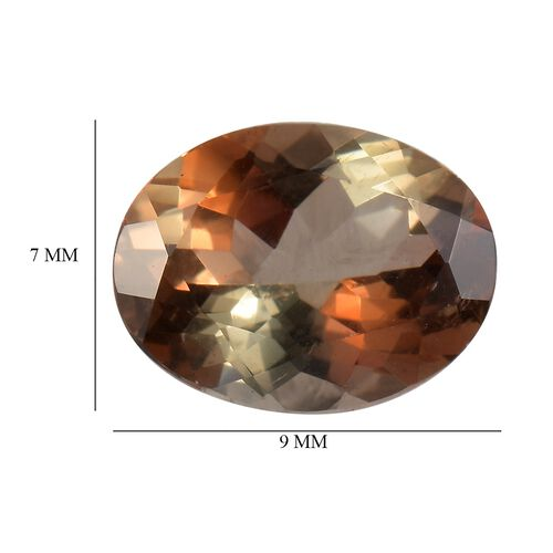 AAA Andalusite Oval 9x7 Faceted 1.41 Cts