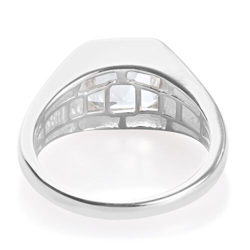 One Time Deal- Petalite Solitaire Ring in Sterling Silver 2.00 Ct.
