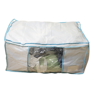 Homesmart Storage Vacuum Bag in White & Blue (Size 65x50x27cm)