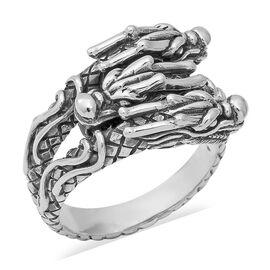 Dragon Ring in Sterling Silver 10.73 Grams