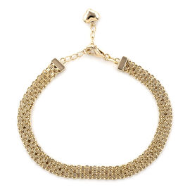 Royal Bali Collection 9K Yellow Gold Bracelet (Size 7 with 1 inch Extender) Gold Wt. 3.28 Grams