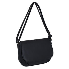 Designer Inspired- Black Colour Bag with Adjustable Strap