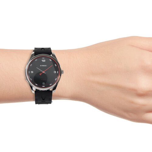 KYBOE Limited Edition Evolve Collection - Corsa Slimline 45MM LED Watch- 100M Water Resistance (With Extra Strap)