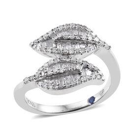 GP- Energy of Life Collection- Diamond (Bgt and Rnd), Kanchanaburi Blue Sapphire Leaves Crossover Ri